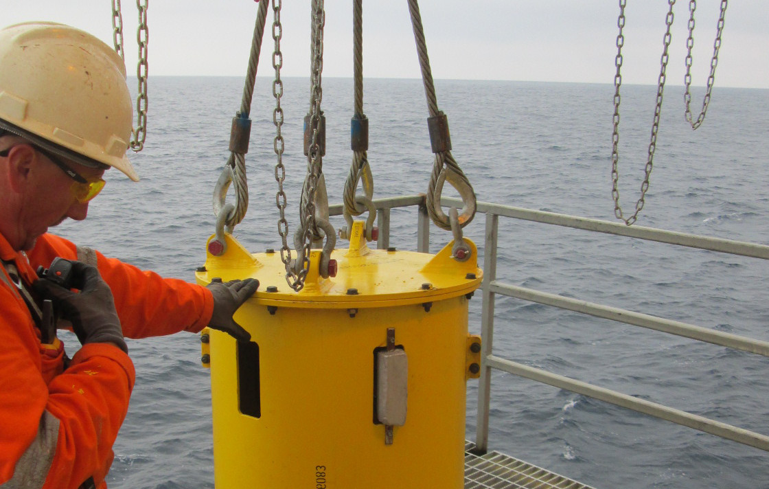 W3G Staff managing installation of subsea product